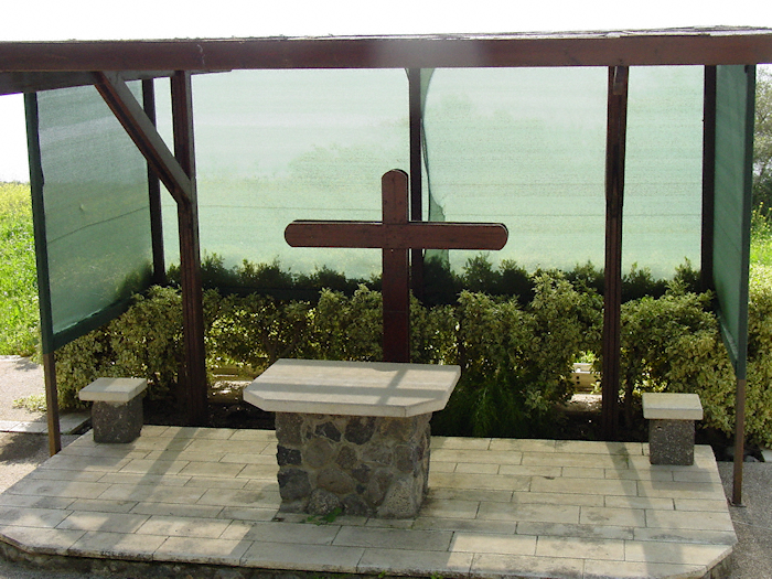 Outdoor Chapel on the Mount of the Beatitudes