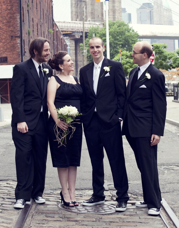 Will and his brothers and sister, before the wedding